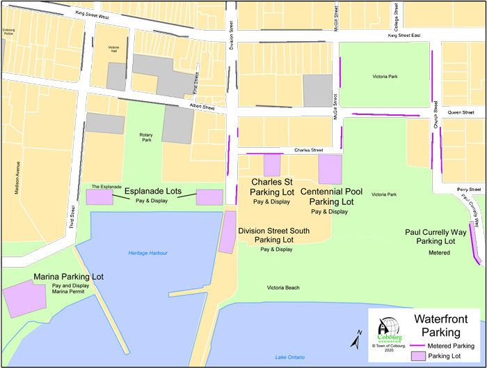parking map 30 July